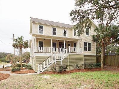 Folly Beach Single Family Home For Sale: 220 E Erie Avenue
