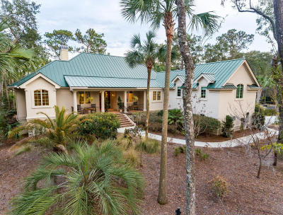 Seabrook Island Single Family Home For Sale: 2455 The Haul Over