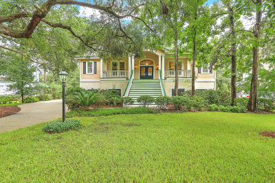 Stono Ferry, Stono Plantation Single Family Home For Sale: 5208 Holly Forest