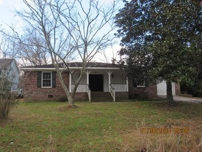 Charleston Single Family Home For Sale: 2817 Limestone Circle