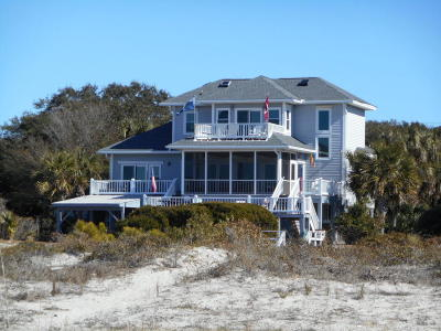 Edisto Island Single Family Home For Sale: 3322 Palmetto Boulevard