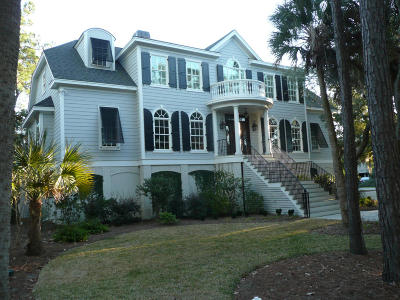 Johns Island Single Family Home For Sale: 2981 Deer Point Drive
