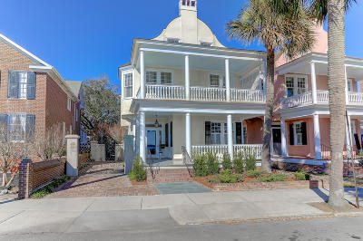 Charleston Single Family Home For Sale: 12 Murray Boulevard