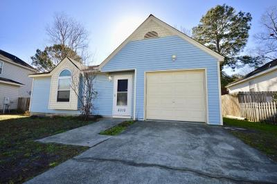 Charleston Single Family Home Contingent: 8310 N Ridgebrook Drive