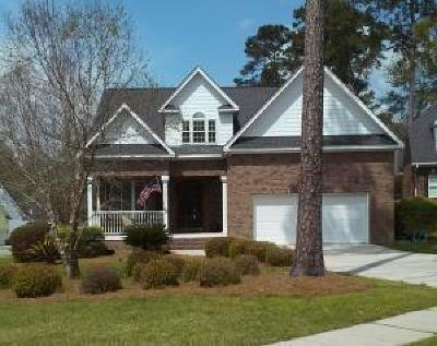North Charleston, West Ashley Single Family Home For Sale: 8612 Woodland Walk