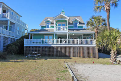 Folly Beach Single Family Home For Sale: 1408 E Ashley Avenue