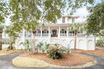 Mount Pleasant SC Single Family Home For Sale: $1,200,000