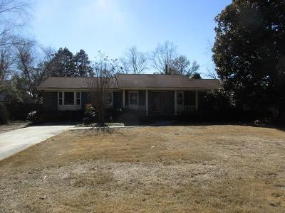 Walterboro Single Family Home For Sale: 207 Chamblee Road