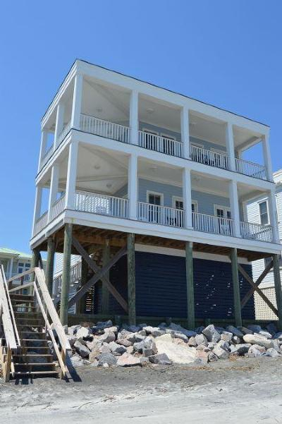 Folly Beach Single Family Home For Sale: 1681 E Ashley B