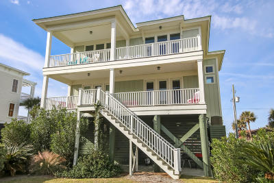 Folly Beach SC Single Family Home For Sale: $1,300,000