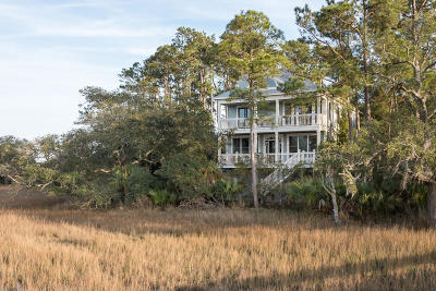 Seabrook Island Single Family Home For Sale: 1813 Landfall Way
