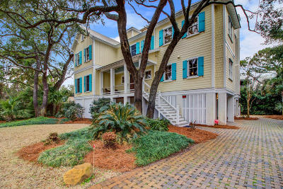 Isle Of Palms Single Family Home Contingent: 14 41st Avenue