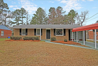 Charleston Single Family Home Contingent: 859 Cartwright Drive