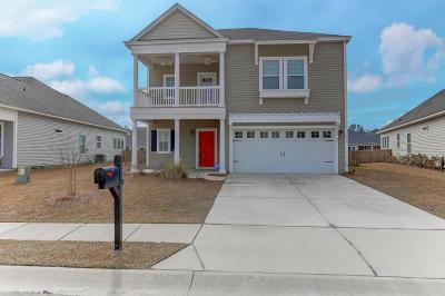Moncks Corner Single Family Home Contingent: 579 Crossland Drive