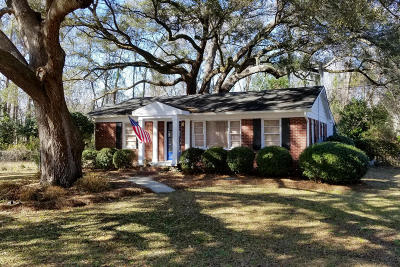 Johns Island Single Family Home Contingent: 3538 Walter Drive