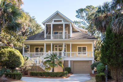 Seabrook Island Single Family Home For Sale: 1021 Crooked Oak Lane