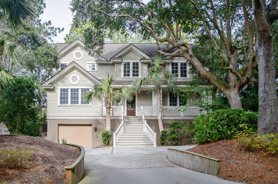 Kiawah Island Single Family Home For Sale: 548 Oyster Rake