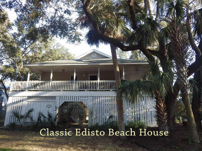 Edisto Beach Single Family Home Contingent: 523 Dolphin Road