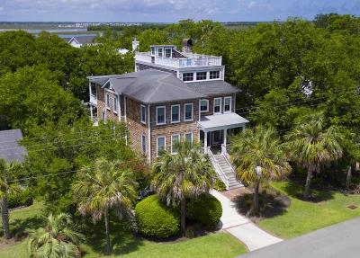Sullivans Island Single Family Home For Sale: 1312 Thompson Avenue