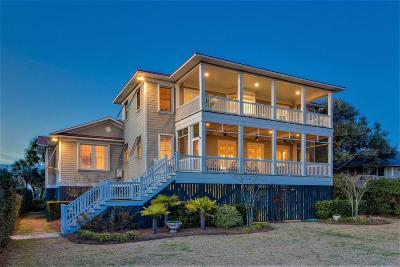 Isle Of Palms Single Family Home Contingent: 2500 Palm Boulevard