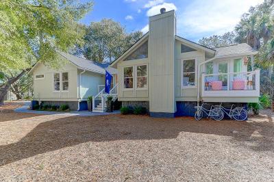 Isle Of Palms Single Family Home Contingent: 19 Lake Village Lane