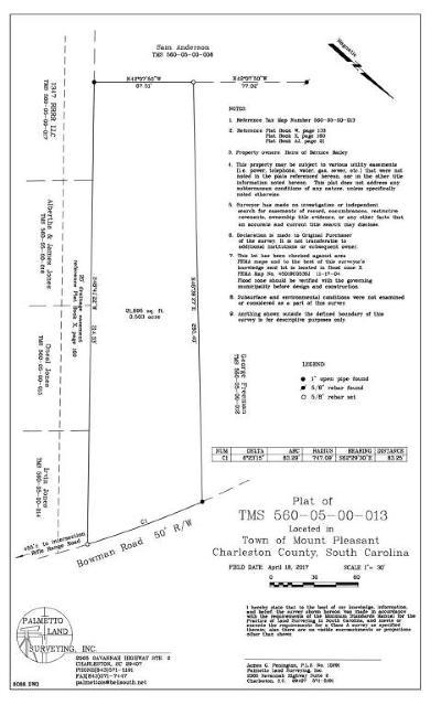 Residential Lots & Land Contingent: Melvin Bennett Road