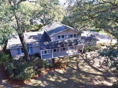 Charleston Single Family Home For Sale: 783 Fort Johnson Road
