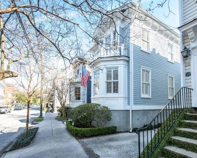 Charleston Single Family Home For Sale: 57 Vanderhorst Street
