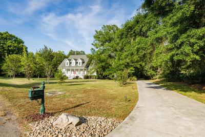 Johns Island Single Family Home For Sale: 3929 Gift Boulevard