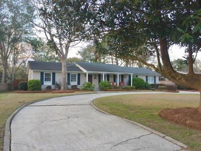Charleston Single Family Home For Sale: 1026 Travers Drive