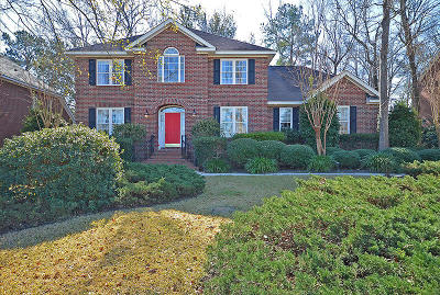 North Charleston, West Ashley Single Family Home For Sale: 8680 W Fairway Woods Dr