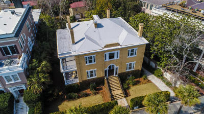 Charleston Single Family Home Contingent: 19 E Battery Street