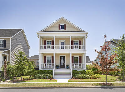 Charleston Single Family Home Contingent: 1529 Willtown Street