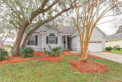 Mount Pleasant Single Family Home For Sale: 1215 Wild Olive Drive