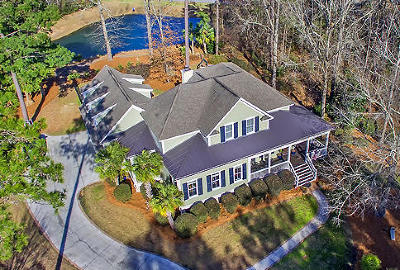 Ravenel Single Family Home For Sale: 4118 Duck Club Road