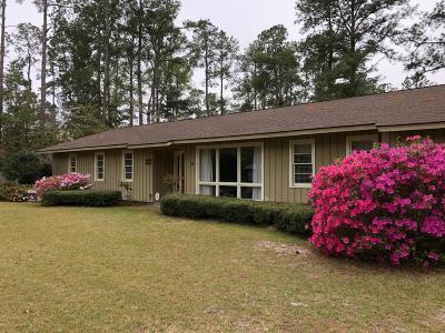 Walterboro Single Family Home For Sale: 115 Lynwood Road