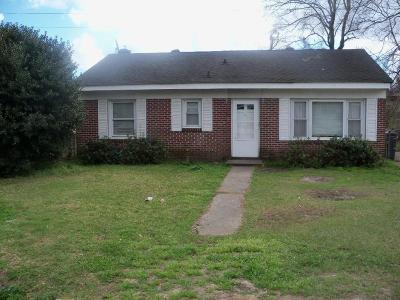 North Charleston Single Family Home For Sale: 1507 Greenbay Drive