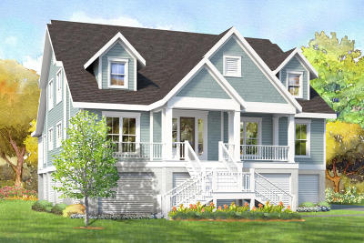 Charleston County Single Family Home Contingent: Oak Island Drive