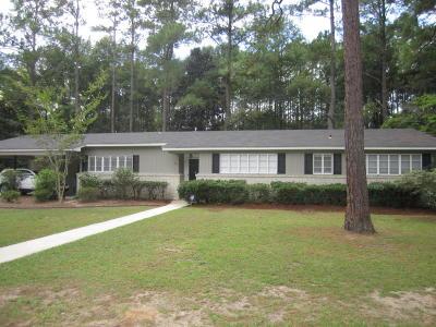 Walterboro Single Family Home For Sale: 301 Silverhill Road