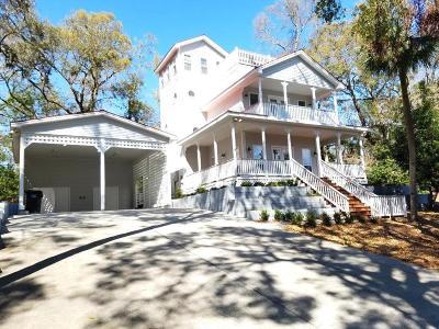Edisto Beach Single Family Home For Sale: 541 Oristo Ridge