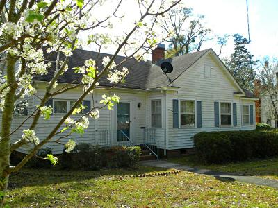 Walterboro Single Family Home Contingent: 116 Weiters Street