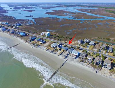 Folly Beach Single Family Home For Sale: 1617 E Ashley Avenue