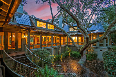 Johns Island Single Family Home For Sale: 150 Kiawah Island Club Drive