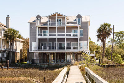 Folly Beach Single Family Home For Sale: 15 Red Sunset Lane