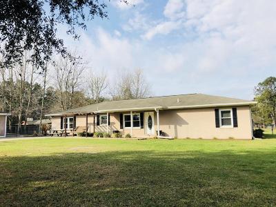 Walterboro Single Family Home For Sale: 298 Loblolly Street