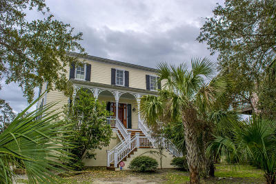 Edisto Island Single Family Home Contingent: 172 Tranquility Lane