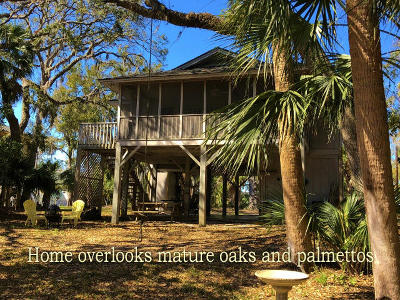Edisto Island Single Family Home Contingent: 1206 Jungle Road