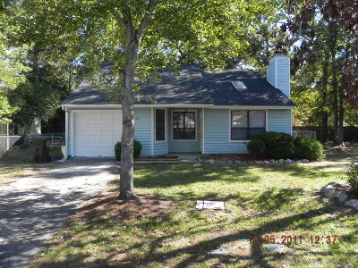 Summerville Single Family Home For Sale: 134 Tabby Creek Circle