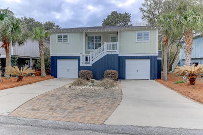 Isle Of Palms Single Family Home For Sale: 3 Sandcrab Court