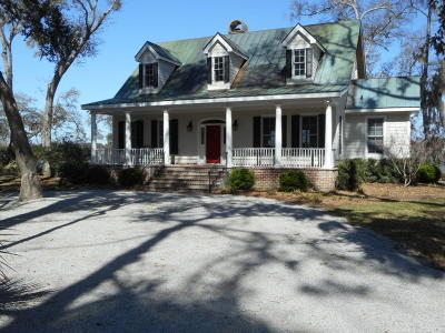 Edisto Island Single Family Home Contingent: 8630 Glascow Island Lane